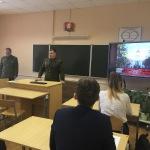 Военная академия в гостях у гимназии