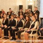 Учащиеся гимназии получили паспорта из рук Президента
