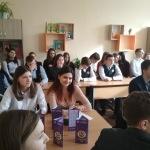 Профориентационные встречи с гимназистами